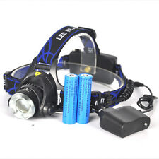 5000LM XM-L T6 LED Headlamp 18650 Headlight Zoomable Head light 3 Modes Torch