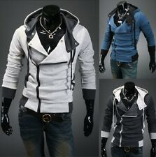 Men's Warm Zip Up Hooded Hoodies Sweatshirt Slim Fit Sweater Coats Tops Outwear