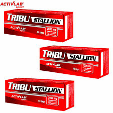 Tribu Stallion 60-180Caps Tribulus Terrestris Testosterone Booster Support DHEA