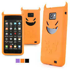 Devil Character Soft Silicone Phone Case  Skin Cover For iphone 4S-3 Color