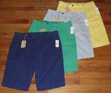 NWT NEW Mens Brooks Brothers Garment Dye Flat Front Bermuda Shorts $85 *1G