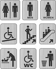 Toilet Door Sign Lavatory Disabled Changing Room Disabled Unisex Door/Wall Signs