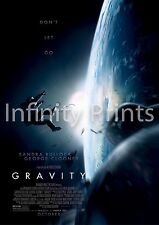Gravity Movie Film Poster A2 A3 A4