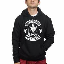 Sons of Shredder Foot Clan Mens Sweatshirt Hoodie Hoody - Mutant Ninja Hoody