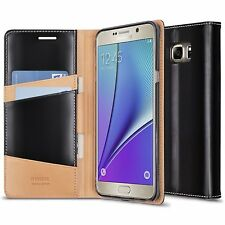 For Galaxy Note 5 Case | Ringke SIGNATURE Genuine Leather Protective Wallet Case
