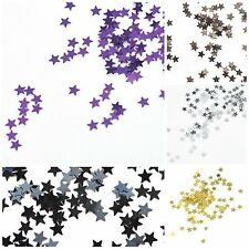 BUY 3 GET 1 FREE OFFER Party Table Decoration Confetti Foil 13mm Star Sprinkles