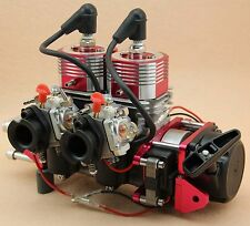 Two Four Two cylinders 4HP~15HP Gas Marine Boat Engine RC Remote control Ship
