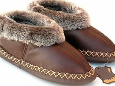 Genuine Sheepskin Slippers , 100% Leather , Highest Quality Sheepskin