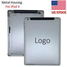 Replacement Back Battery Door Housing Cover Case For iPad 4 3G & Wifi Version US