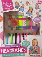 Headbands Craft Kit Make Your Own 10 Headbands Christmas Gift Party