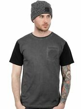 Santa Cruz Carbon Black-Black Bru Pocket T-Shirt