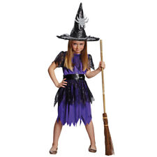 Costume Spider Witch Size 116 - 152 Fancy Dress Halloween Spider Witch Dress