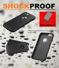 For Apple iPhone 6 6S PLUS ShockProof Hard Protective Case Cover Carbon Fiber