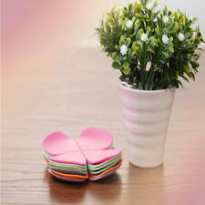 Ideal Tea Placemat Coaster Sets Special Creative Flower Shaped Silicone Cup Mat