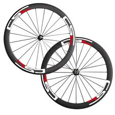 CSC Decals Carbon bicycle wheels 50mm clincher carbon road bike wheelset