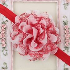 Baby Toddler Infant Lace Flower Headband Hair Bow Headwear Accessories Sales