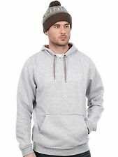 Etnies Grey-Heather Corporate Stitch Hoody