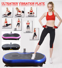 REBOXED Gym Master CRAZY FIT Slim VIBRATION Massage Power Plate w/Cords & Remote