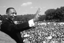 """Martin Luther King Jr  Fabric poster 36"""" x 24"""" Decor 27"""