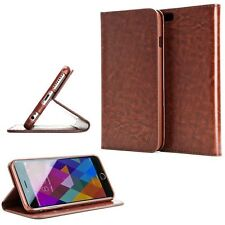 PU Leather Fold Wallet Pouch Credit Card Case Cover For HTC Desire 520 Phone