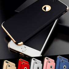 Luxury Ultra-thin Electroplate Hard Back Case Cover for Apple iPhone 5/6S/7 Plus