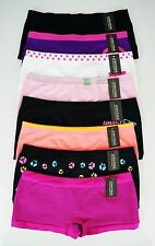 Lot 30 pc New Design Seamless Comfy Women Boyshort Panties Underwear Size Small
