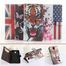 New For Lenovo A536 Smartphone PU leather Cover Flip Folio case Magnetic cover