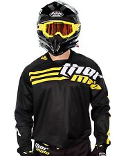 Thor Strands Black - Yellow 2016 Phase MX Jersey