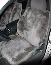 "ALL SHEEPSKIN SEAT COVERS- ONE PAIR Australian Skins 1"" thick Highest Quality!"