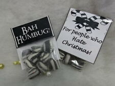 BAH HUMBUG Christmas Gift For Grumpy People Scrooge Hate Christmas Mint Sweets