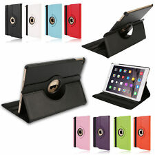 For Apple iPad Air 2 Smart Magnetic Leather Rotating Folio Flip Stand Case Cover