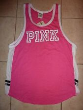 "VICTORIAS SECRET PINK NEW TANK TOP ""PINK"" ""PINK"" TANKTOP NWT"