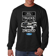 Ford Trucks F-150 Built Tough Drive One American Classic Long Sleeve T-Shirt Tee