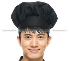 NEW Chef Hat Commercial Adjustable Costume Restaurant Cook 3 Colors
