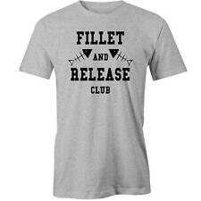 Fillet And Release Club T-Shirt Funny Angler Bait Fisherman Fishing Hobby Fish T