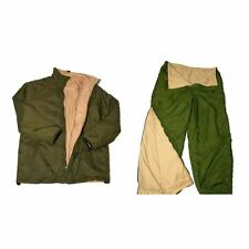 BRITISH ARMY (SOFTIE) THERMAL JACKET AND TROUSERS - GRADE 1 - WITH STUFF SACKS