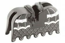 LEGO Horse Barding, Ruffled Edge with Silver Armor and Fleur de Lis Pattern MINT