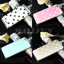 Cute Polka Dot Pattern Soft TPU Phone Case Cover For Apple iPhone 6/ 6S 4.7""