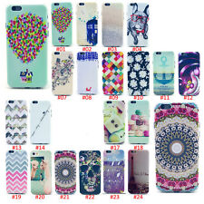 Fashion Cute Design Pattern Soft Back Case Cover Skin For Samsung Galaxy iPhone