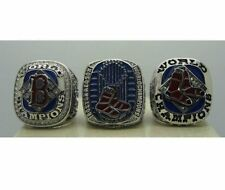 World Series championship rings A Set Boston Red Sox Baseball 3PCS Size 9-13 US