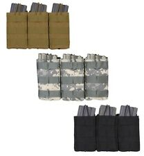 MOLLE Compatible Open Top Tactical Triple Mag Pouch Rothco 41004 41005