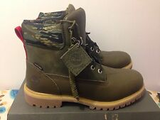 "TIMBERLAND x BLACK SCALE 6"" PREMIUM BOOT OLIVE BLVCK SCVLE 6002B LIMITED EDITION"