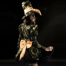 4933 Mad Hatter costume women adult Alice In Wonderland cosplay halloween dress