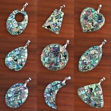 1x Charm Natural Abalone Shell Different Style Beads Shell Pendant Jewelry Gift