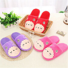 Men Women Sheep Slippers Soft Warm Plush Cotton Anti-slip House Indoor Shoes 73