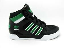 Juniors ADIDAS HARD COURT HI K Black Trainers G97478