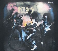 NEW  Kiss Alive  T Shirt Gene Simmons Ace Frehley Paul Stanley Peter Criss