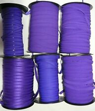 Bra / Knicker Elastics and Findings in Rich Purple Colour - Various Sizes