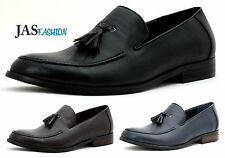 Mens Formal Work Shoes Smart Dress Slip On Tassel Loafers Casual Size UK Size