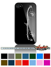 """Austin Healey 3000 MKIII Roadster """"Profile"""" Phone Case iPhone and Samsung Galaxy"""